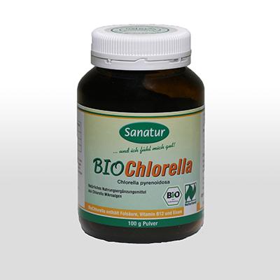 Chlorella Pulver    100 g