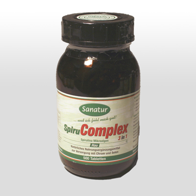 Spirucomplex 3 in 1 500 Tabletten