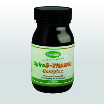 Spiru B-Vitamin Complex 90 Kapseln
