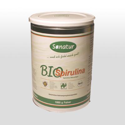 Bio Spirulina Pulver 1000g
