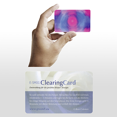 E-SMOG Clearing Card